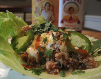 Dukan Diet Recipe Chipotle Turkey Lettuce Tacos