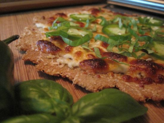 Oat Bran White Pizza