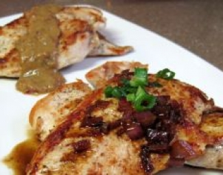Dukan Diet Recipe Maple Balsamic and Orange Mustard Chicken