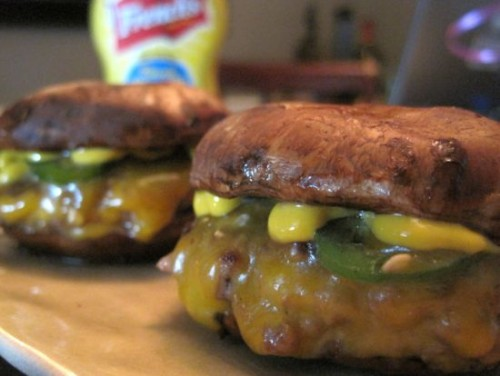 Dukan Diet Recipe Portabello Sliders