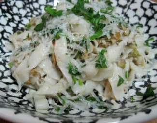 Dukan Diet Recipe Fettuccine with Clam Sauce