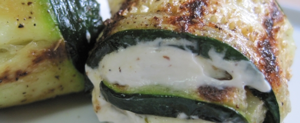Dukan Diet Recipe Zucchini Cheese Rollups