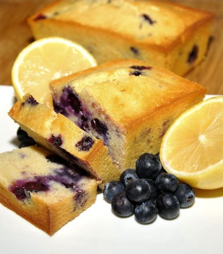 Celebration Lemon Blueberry Bread