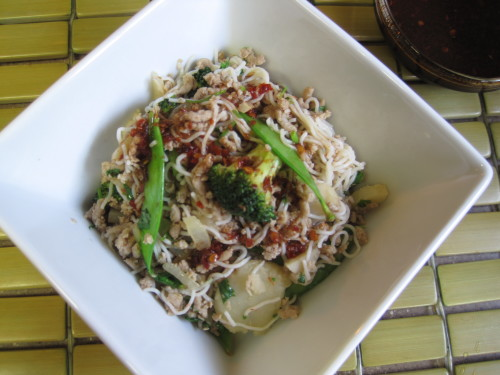 Vietnamese Spicy Turkey Noodles