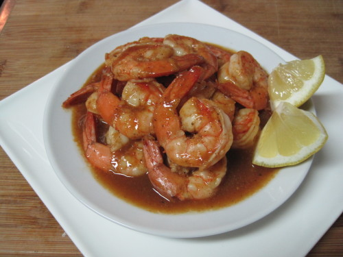 Barbecued Creole Shrimp