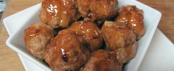Sticky Turkey Meatballs