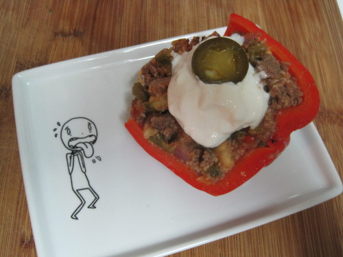 Nacho Stuffed Bell Peppers