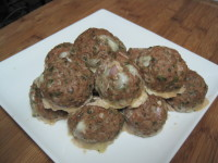 Becky's Stuffed Meatballs