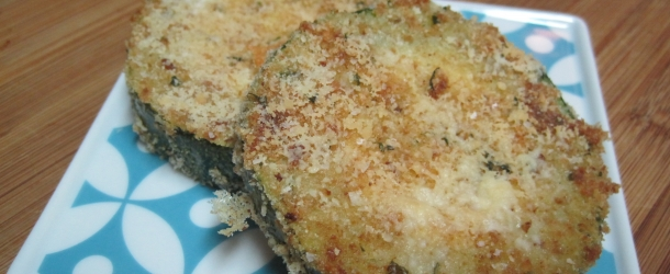 Baked Crunchy Zucchini