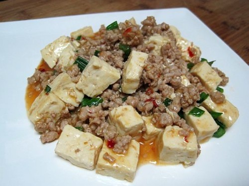 Szechuan Pork and Tofu