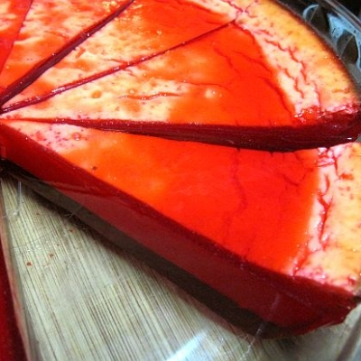 Guilt-Free Strawberry Cheesecake