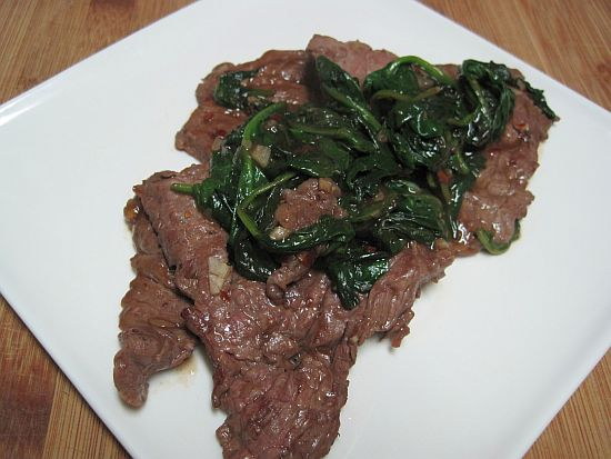Beef in Hot Garlic Sauce