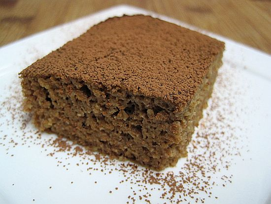 Chocolate Oat Bran Cake