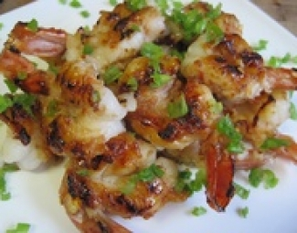 Ginger Honey Shrimp