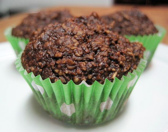 Chocolate Carrot Muffins