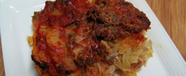 Sweet and Sour Cabbage Casserole