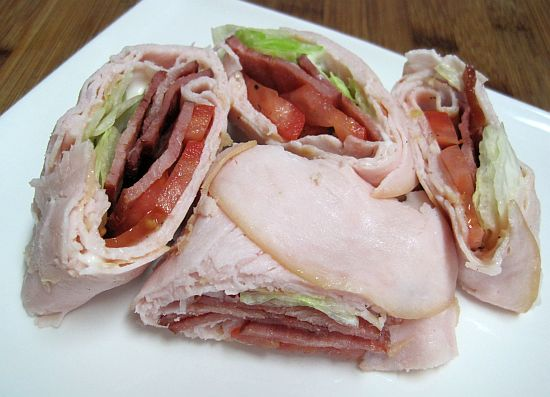 BLT and Turkey Wraps