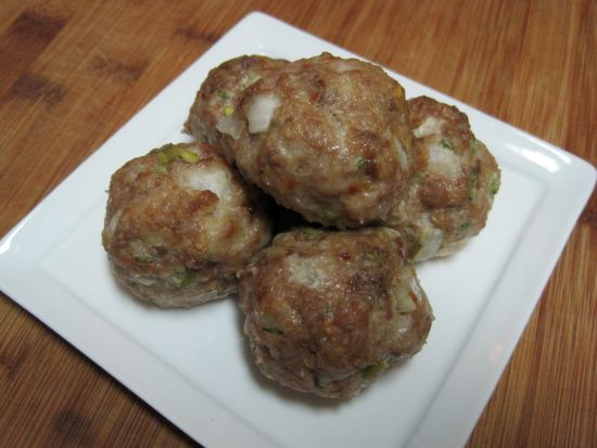 Dukan Diet Recipe Onion Meatballs