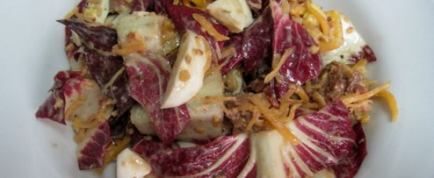 Chicken and Radicchio Salad