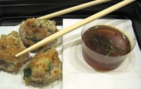 Shrimp and Pork Meatballs with Dipping Sauce