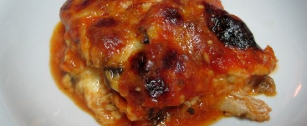 Chicken and Eggplant Lasagne