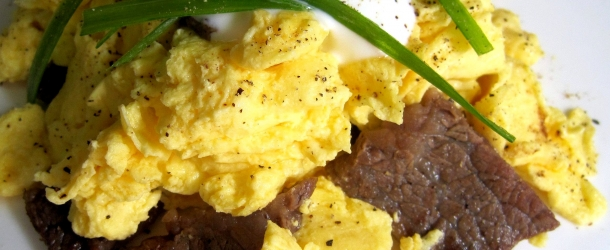 Filet Mignon Scramble