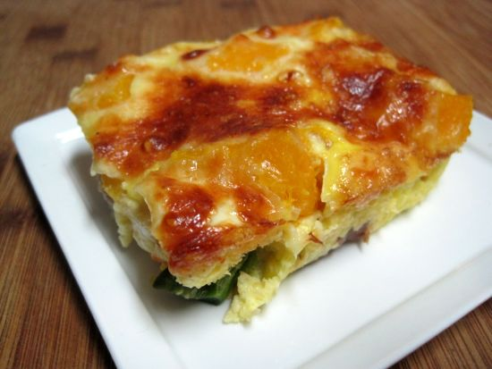 Dukan Diet Recipe Steak and Pumpkin Quiche