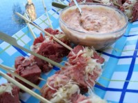 Dukan Diet Recipe Corned Beef Skewers