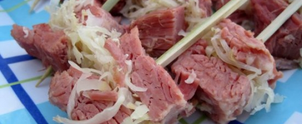 Dukan Diet Recipe St. Patrick's Day Corned Beef Skewers
