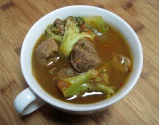 Dukan Diet Recipe Beef and Broccoli Stew