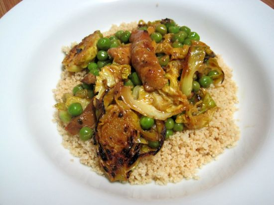 Dukan Diet Recipe And Peas and Whole Wheat Couscous