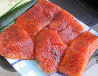 Dukan Diet Recipe Maple Salmon
