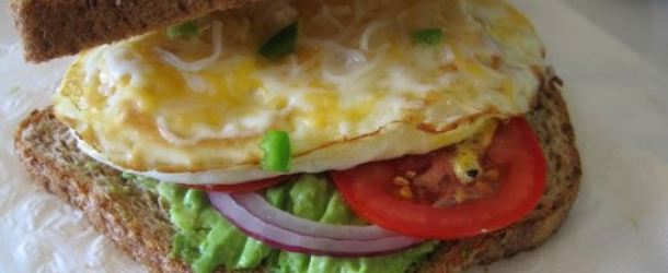 Dukan Diet Recipe Egg Sandwich