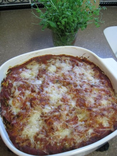 "Dukan Diet Recipe Quinoa and Cauliflower ""Lasagne"""