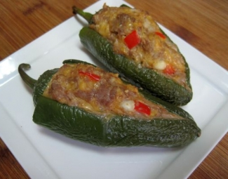 dukan diet recipes Turkey Stuffed Jalapenos