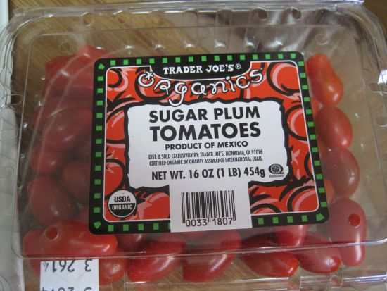 dukan diet recipe Sugar Plum Tomatoes