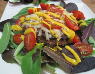 Dukan Diet Recipe Top Sirloin Deconstructed Burger