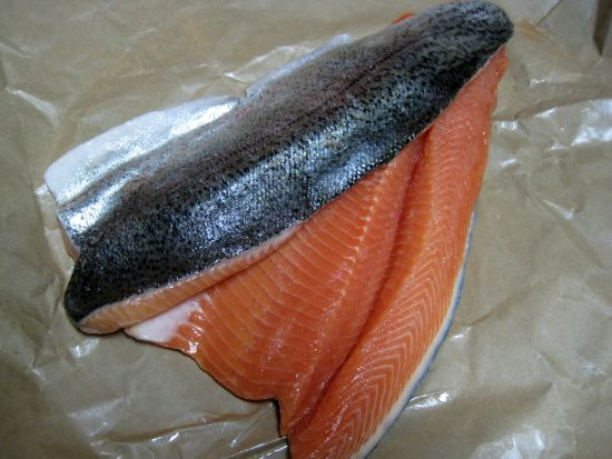 Dukan Diet Recipe Trout a la Meuniere