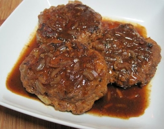 Dukan Diet Recipe Salisbury Steak