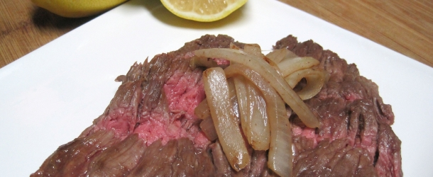 Dukan Diet Recipe Marinated Skirt Steak