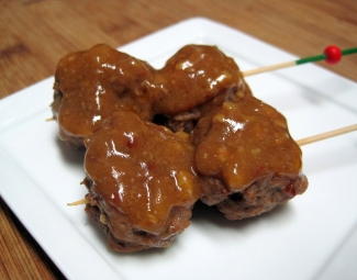 Dukan Diet Recipe Sweet and Spicy Beef Meatballs