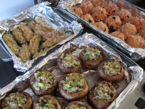 Dukan Diet Recipe Stuffed Mushrooms, Jalapenos and Pizza Meatballs