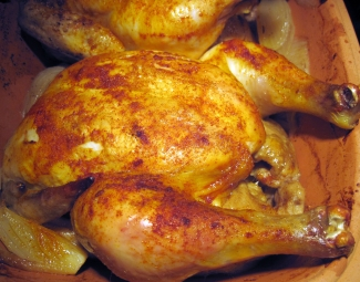 Dukan Diet Recipe Roast Chicken In A Clay Pot