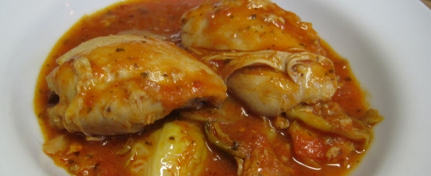 Dukan Diet Recipe Italian Chicken and Brussels Sprouts