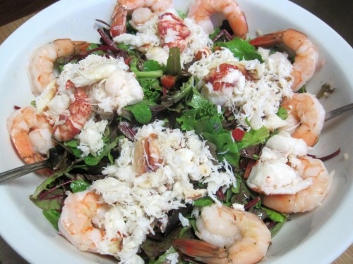 Dukan Diet Recipe Seafood Salad